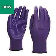 Verve Nylon Lilac Gardening gloves, Small
