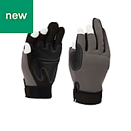 Site Polyamide & polyester Gripper Gloves, Large