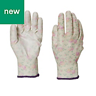 Verve Polyester (PES) Lilac Gardening gloves, Medium