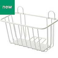 GoodHome Koros Powder Coated Steel Wire Basket