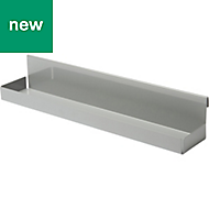 GoodHome Amantea Stainless Steel Shelf