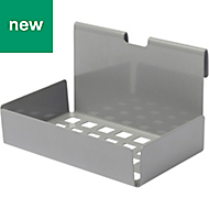 GoodHome Amantea Stainless Steel Soap dish