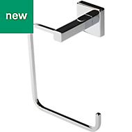 GoodHome Alessano Wall mounted Chrome Plated Towel ring