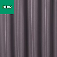 Klama Light purple Plain Unlined Pencil pleat Curtain (W)167cm (L)183cm, Single