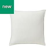 Hiva Plain Off white Cushion