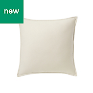 Hiva Plain Beige Cushion