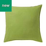 Hiva Plain Green Cushion