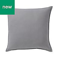 Hiva Plain Grey Cushion