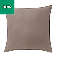 Hiva Plain Light brown Cushion