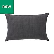 Novan Plain Dark grey Cushion