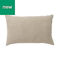 Novan Plain Beige Cushion