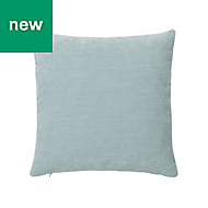 Pahea Chenille Blue & green Cushion
