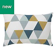 Rima Triangle Multicolour Cushion