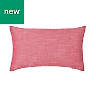 Tiga Plain Red Cushion