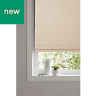 GoodHome Soyo Corded Light beige Roman blind (L)160 cm (W)180 cm