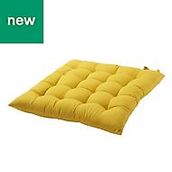 Hiva Yellow Plain Seat pad