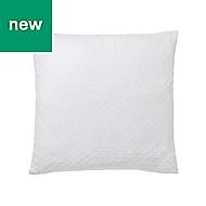 Cristal Geometric White Cushion