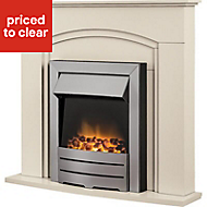Blyss Devon Cream Electric Fire
