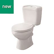 Tapia Close-coupled Toilet with Standard close Seat