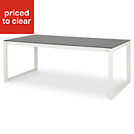 Riccia Metal 4-6 seater Dining table