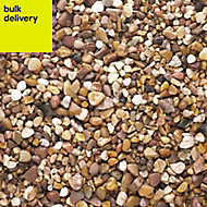 B&Q Naturally rounded Brown Decorative stones, Large 22.5kg Bag