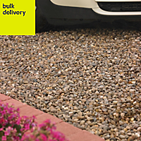 B&Q Brown Naturally rounded Decorative stone 22500g