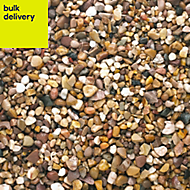 B&Q Brown Naturally rounded Decorative gravel 790000g