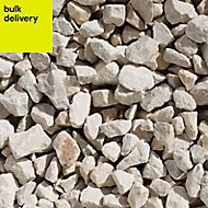 B&Q Cotswold buff Decorative stones, Bulk Bag