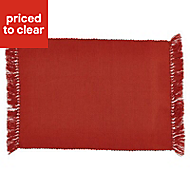 Blooma Rural Terracotta Placemats, Set 2