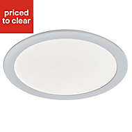 Colours Petros White Fixed LED Downlight 19W IP44