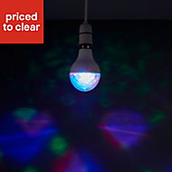 Diall B22 GLS Multicolour LED Light bulb