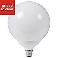 Diall B22 1521lm GLS Neutral white LED Light bulb