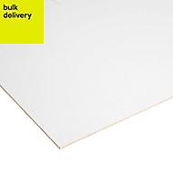 Smooth White Hardboard (L)1.22m (W)0.61m (T)3mm