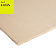 MDF Board (Th)9mm (W)610mm (L)1220mm