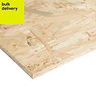 Smooth OSB 3 Board (L)2.44m (W)1.22m (T)12mm