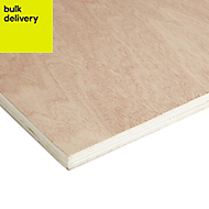 Hardwood Plywood Sheet (Th)18mm (W)405mm (L)810mm