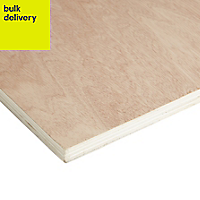 Hardwood Plywood Sheet (Th)18mm (W)405mm (L)810mm