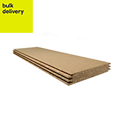 Chipboard Loft panel Pack of 3, (L)1220mm (W)325mm (T)18mm