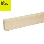 Rough sawn timber (T)32mm (W)75mm (L)2400mm
