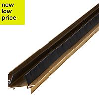 Diall Aluminium & rubber Two part threshold door seal, (L)914mm