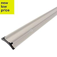 Diall White PVC Rain deflector, (L)1m