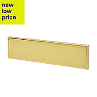 Diall Gold effect Letterbox (H)73mm (W)292mm