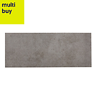 Konkrete Grey Matt Ceramic Wall tile, (L)500mm (W)200mm, Sample