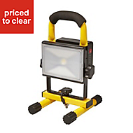 Diall Rechargeable work light 10W 220-240 V