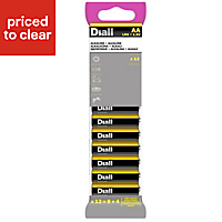 Diall AA Battery, Pack of 12