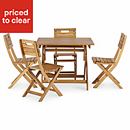 Denia Wooden Folding chair