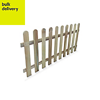 Blooma Liao Wooden Picket fence (W)1.8 m (H)0.8m