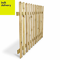 Blooma Mekong Picket fence (W)1.8 m (H)1m