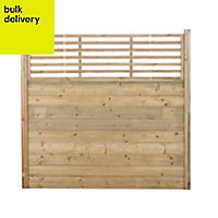 Blooma Fine sawn Wood Fence posts (H)1m (W)70 mm