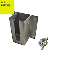 Blooma Steel Post wall starting support (L)70mm (W)70mm